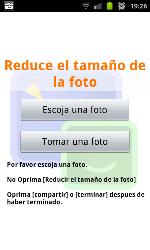 Reduce photo size Android