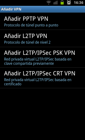 VPN en Android 2