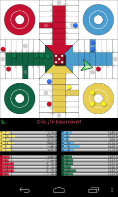 Parchis Android tablero 4