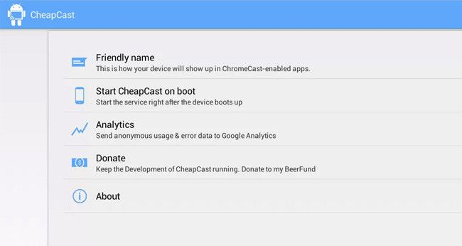 CheapCast android