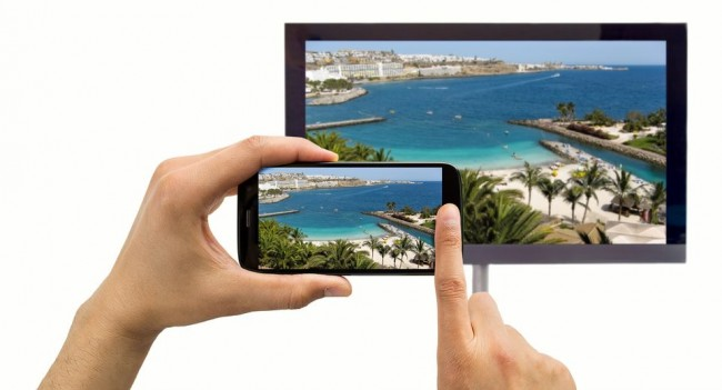 Conectar smartphone Android a smart tv