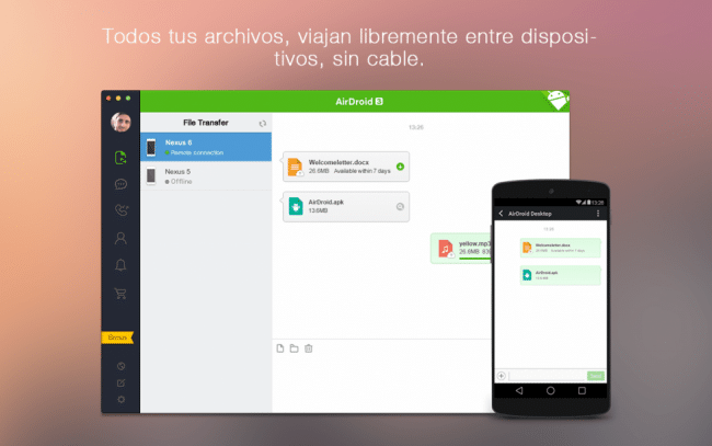 airdroid para android