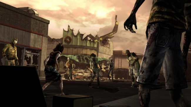 the walkind dead para android