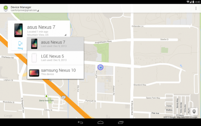 tutorial android device manager