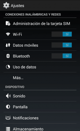 Activar Bluetooth Android Kit Kat