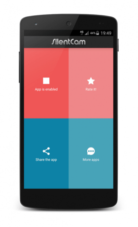 silent cam para android