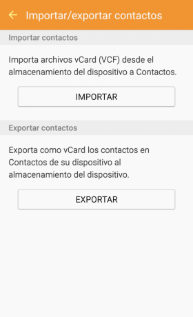 Importar Contactos Android