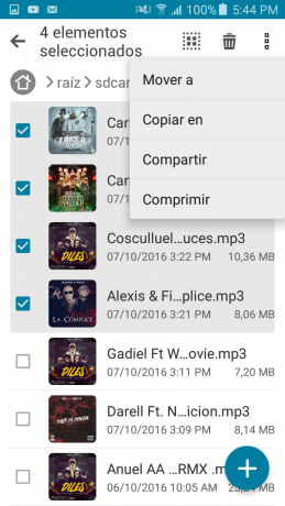 Copiar en File Manager
