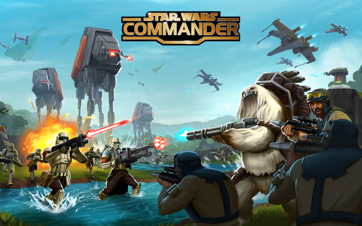 star wars commander en android