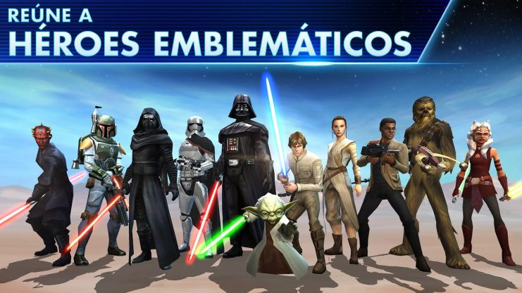 star wars galaxy heroes en android