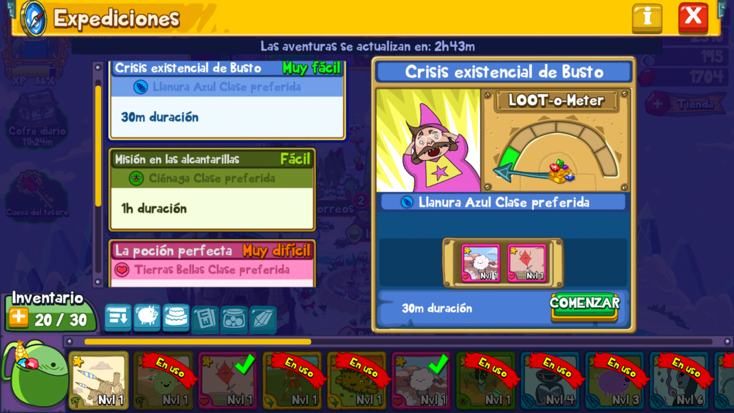 Card Wars Expediciones en Android