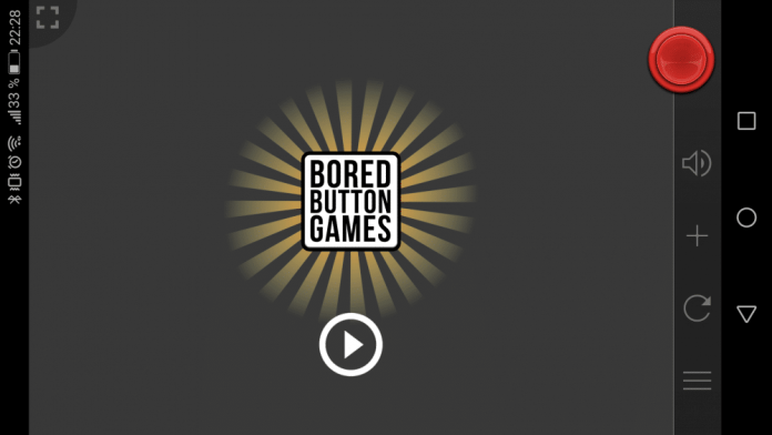 Bored Button juego Android